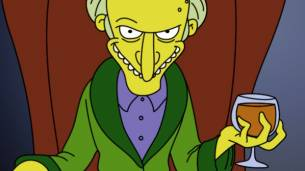 Los Simpsons - Sr. Burns - Excelente