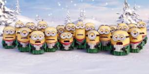 Los Minions cantando el Jingle Bells