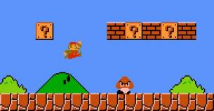 Super Mario - GameOver