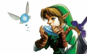 Zelda - Ocarina of Time - Fairy Flying SMS